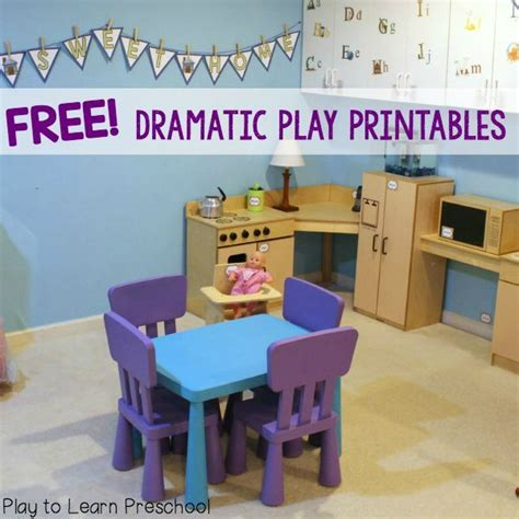 Kitchen Area Labels 17 Best Images About Dramatic Play Ideas On