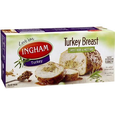 easter turkey breast recipes ingham s frozen turkey breast sweet herb mustard 2kg