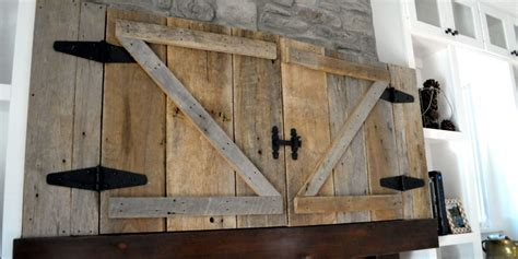 Barn Door Tv Cover This Is One Stylish Country Approved Way To Hide Your Television