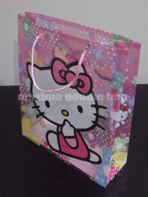 Tas Ulang Tahun Anak Goody Bag Model Serut tas untuk ulang tahun anak dengan model bergambar perdana goodie bag