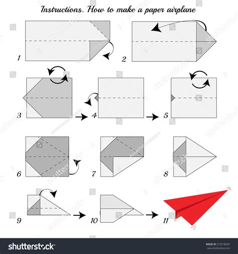 Steps To Make Paper Airplanes - how to make paper airplane paper plane