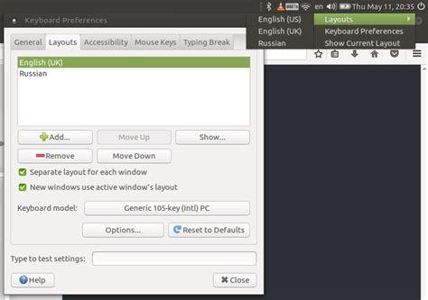keyboard layout options ubuntu 14 04 ubuntu mate 17 04 fast forward to the past linux notes