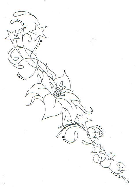 tattoo flower stars designs flower star pattern by xxdannymaytexx on deviantart