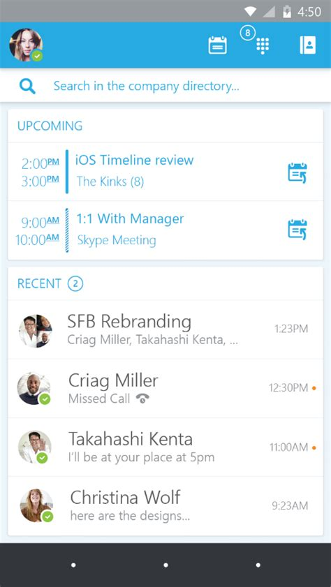 Corporate Email Address Search Announcing The Preview Of Skype For Business Apps For Ios And Android Office Blogs