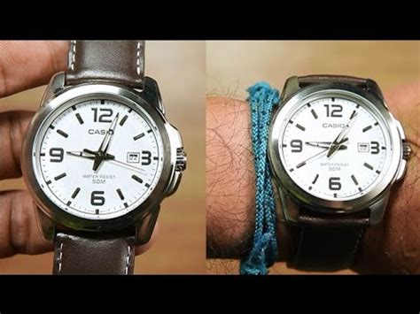 Casio Standard Mtp 1314l 7av casio standard mtp 1314l 7av leather unboxing