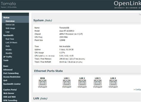 reset nvram tomato planet libre triple test routeur opensource asus rt ac68u