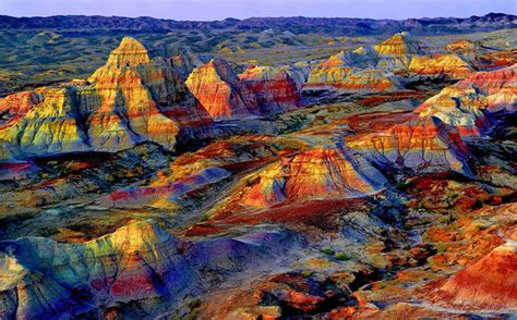 colorful hill what is in china 8 most beautiful deserts maps tips