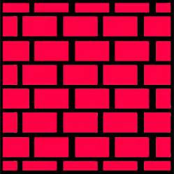 clipart brick wall