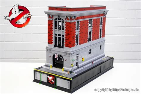 Lego Ghostbusters House by Lego Ghostbusters Headquarters By Pax The Brick Fan