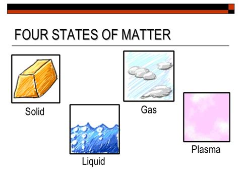plasma 4 state of matter states and changes matter