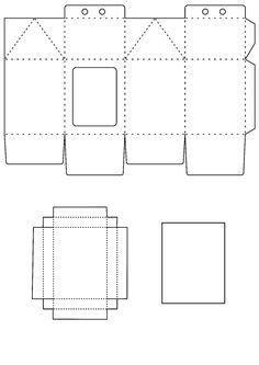 Resultado de imagem para moldes de embalagens de papel em