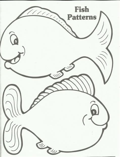 rainbow fish template az coloring pages