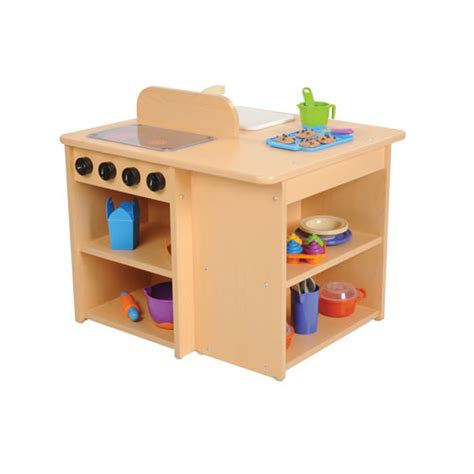 Kitchen Toddler by Classic Maple Laminate Toddler Kitchen