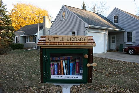 front yard library free library minnesota prairie roots