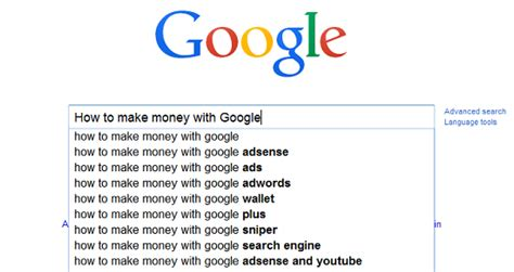 How Make Money Online With Google - ways to make money online with google