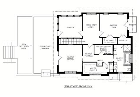 2nd floor addition plans 2nd story addition plans finest two story floorplans