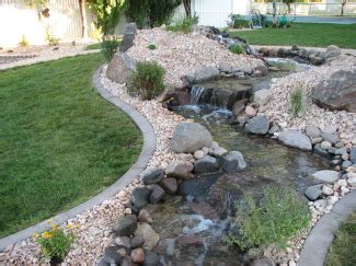 backyard stream ideas free landscaping designs desert dispatch lanscape