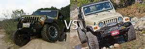 Jeep Jk Vs Tj Tj Vs Jk Which One Is Better And Why