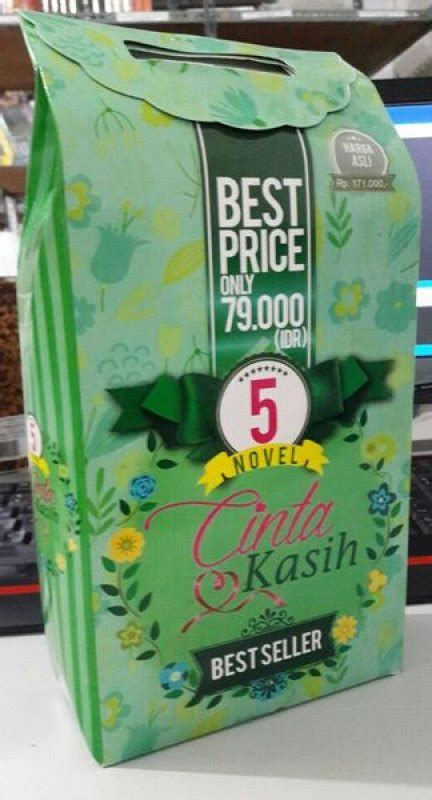 Box Paket 5 Novel Cinta bukukita box paket 5 novel cinta kasih