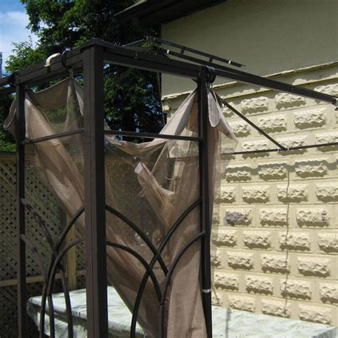 home depot 10 x 10 trellis gazebo replacement canopy