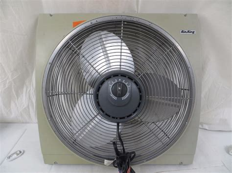 airking 9166 20 whole house window fan air king 9166 e 20 window mount whole house fan reversible 401037177883 pawn king ny