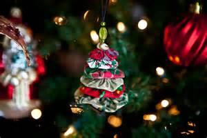 how to make christmas tree yo yo ornament steamy kitchen