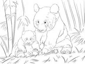 ausmalbild 252 223 pandafamilie ausmalbilder kostenlos zum ausdrucken