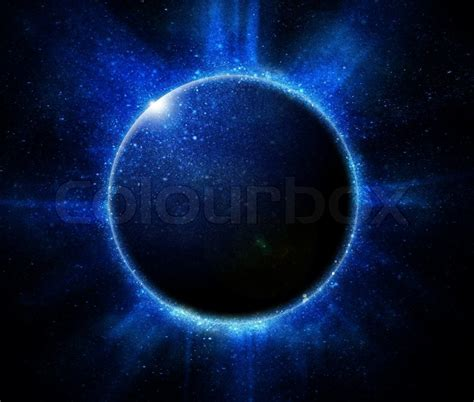 eclipse theme black background solar eclipse on a black background stock photo colourbox