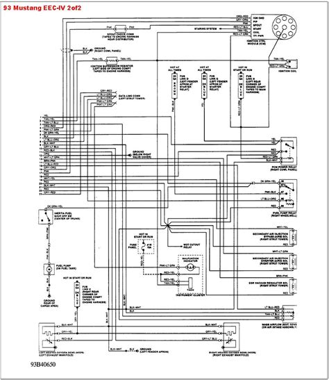 2003 mustang co wiring diagram wiring diagram