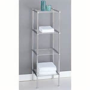 Bathroom Free Standing Shelves 30 Diy Storage Ideas To Organize Your Bathroom Page 2 Of 2 Diy Projects