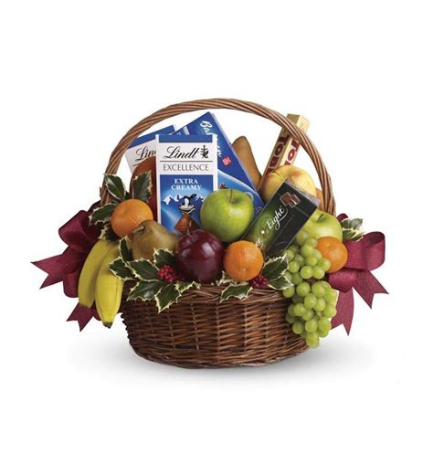 fruits and sweets christmas basket t135 2a 81 86