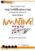 free printable bowling certificates bowling awards
