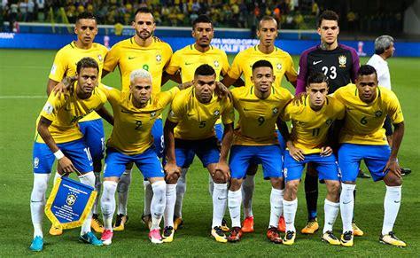 brasil copa do mundo favoritos da copa do mundo 2018 brasil alemanha fran 231 a