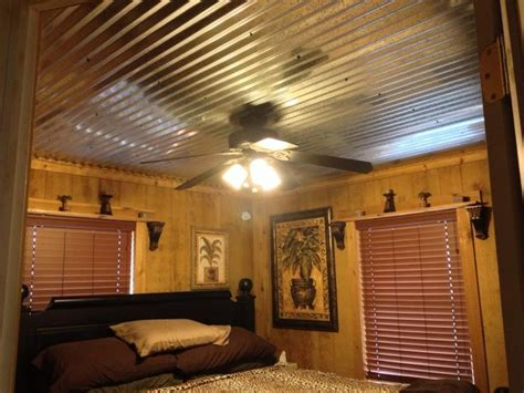 tin ceiling barn tin ceiling that hubby put in bedroom tin ceilings barn tin and tins
