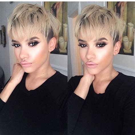 Hairstyles For 50 With Faces 2017 Tour by 21 Gorgeous Pixie Cuts With Bangs Pretty Designs