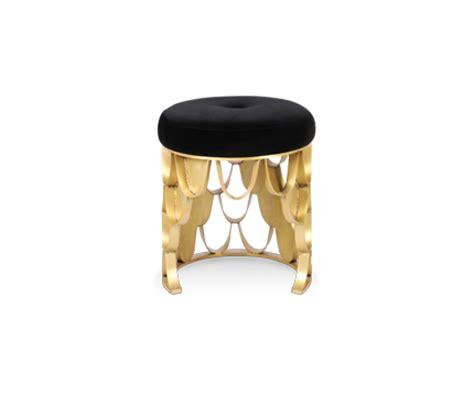 koi upholstered stool design by brabbu