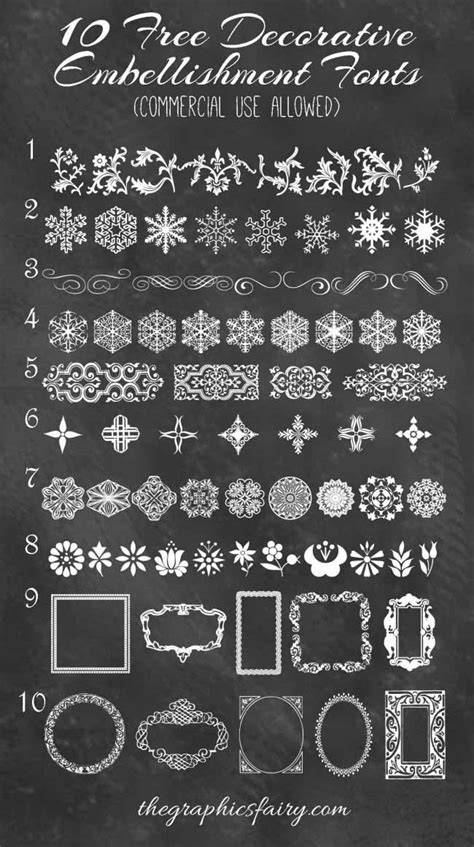free printable decorative fonts 10 best decorative embellishment fonts commercial use