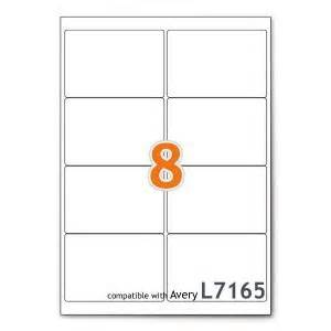 8 labels per sheet template a4 mailing shipping printer labels 8 per sheet avery
