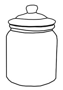 how to color jars jar coloring pages for jar coloring pages for