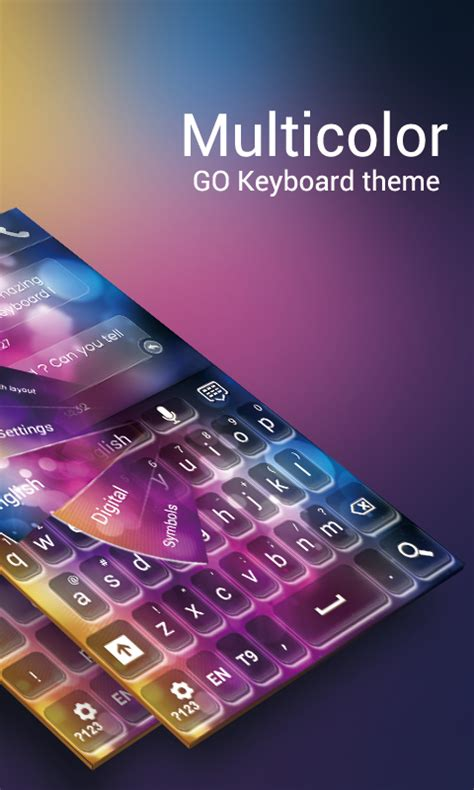 go keyboard themes tribal go keyboard multicolor theme 1mobile com