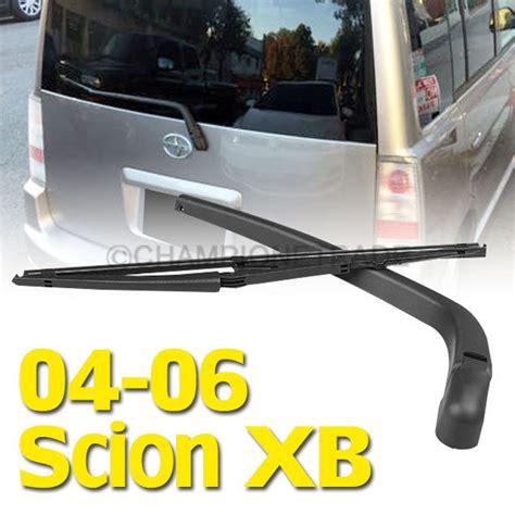 repair windshield wipe control 2005 scion xb spare parts catalogs black rear window windshield wiper blade arm for toyota scion xb 04 05 06 ct ebay