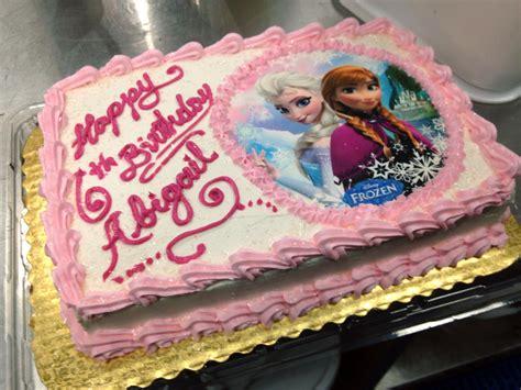 Freezer Cake frozen birthday sheet cake www pixshark images