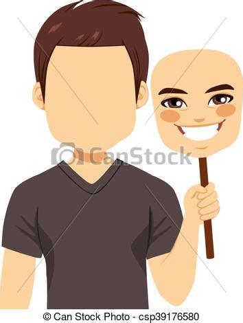 Faceless man clipart free
