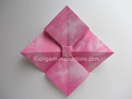 Origami Flat Box - origami bow folding