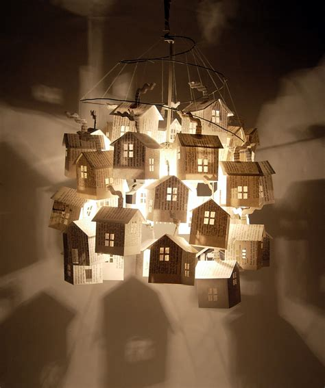 Paper House by Paper Folding These Wooden Ideas