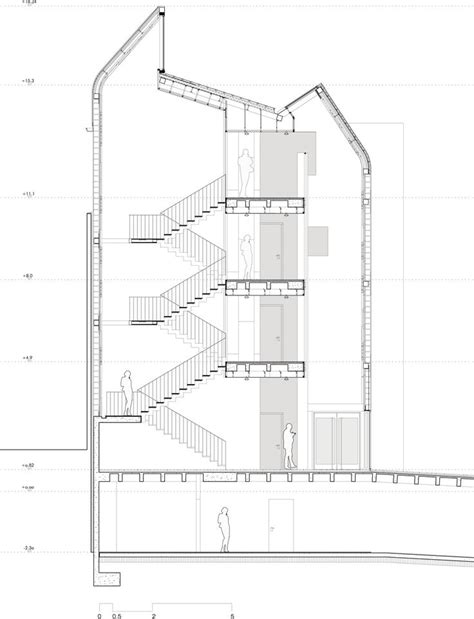 section drawing of staircase 17 best images about construction stair drawings on