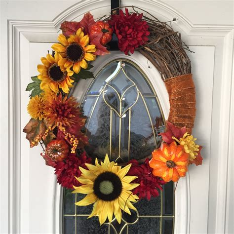 Handmade Fall Wreaths - 15 homely handmade fall wreath designs for the coming season
