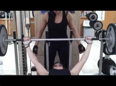 girl benches 225 anna konda benchpress 150kg 331lbs for reps deadlift