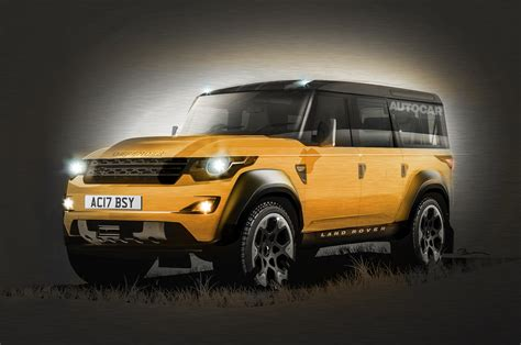 range rover defender 2016 new cars news autocar