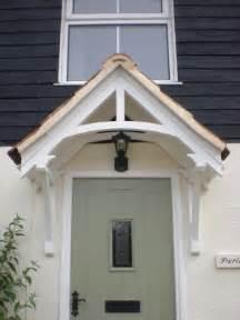 Front Door Canopy Porch Timber Door Canopies Traditional Cottage Canopies Front Door Canopies